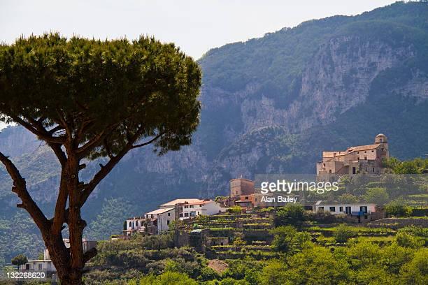 Italy, Amalfi Coast, View of Ravello