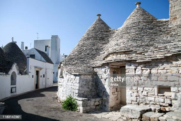 Alberobello Trulli houses traditional Apulian dry stone huts