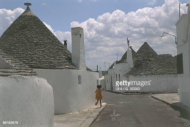 Italy Apulia Region Le Murge Trulli houses
