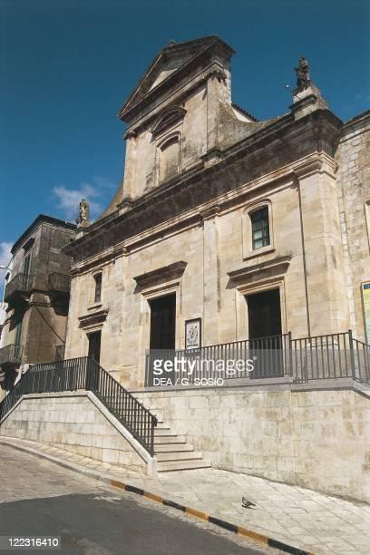 Italy Apulia Region Murge Plateau Cisternino Mother Church