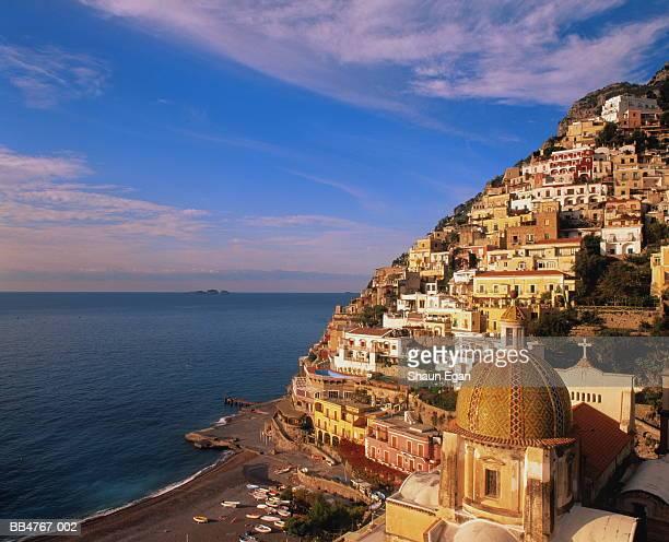 Italy, Campania, Almafi Coast, Positano, coastal town