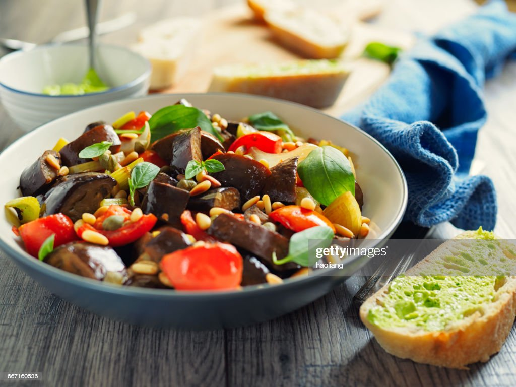 Italy Caponata : Stock Photo