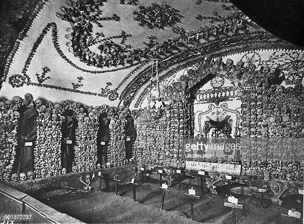 catacombs near Rome probably in the 1910s
