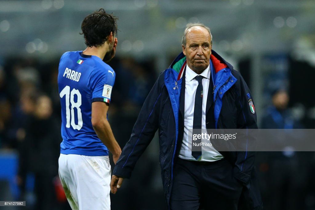 Italy v Sweden - FIFA 2018 World Cup Qualifier Play-Off: Second Leg : Foto di attualità