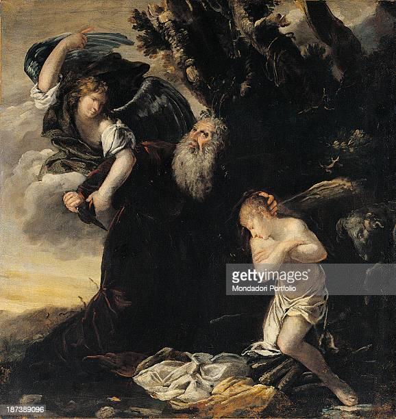 Italy Credito Bergamasco All An angel stops Abraham from killing his son Isaac