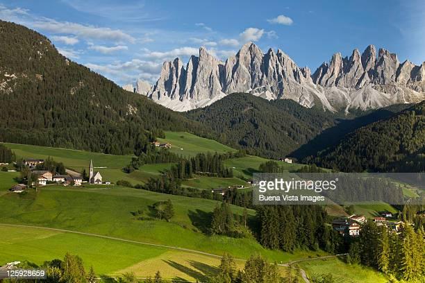 Italy, Dolomites, Val di Funes.
