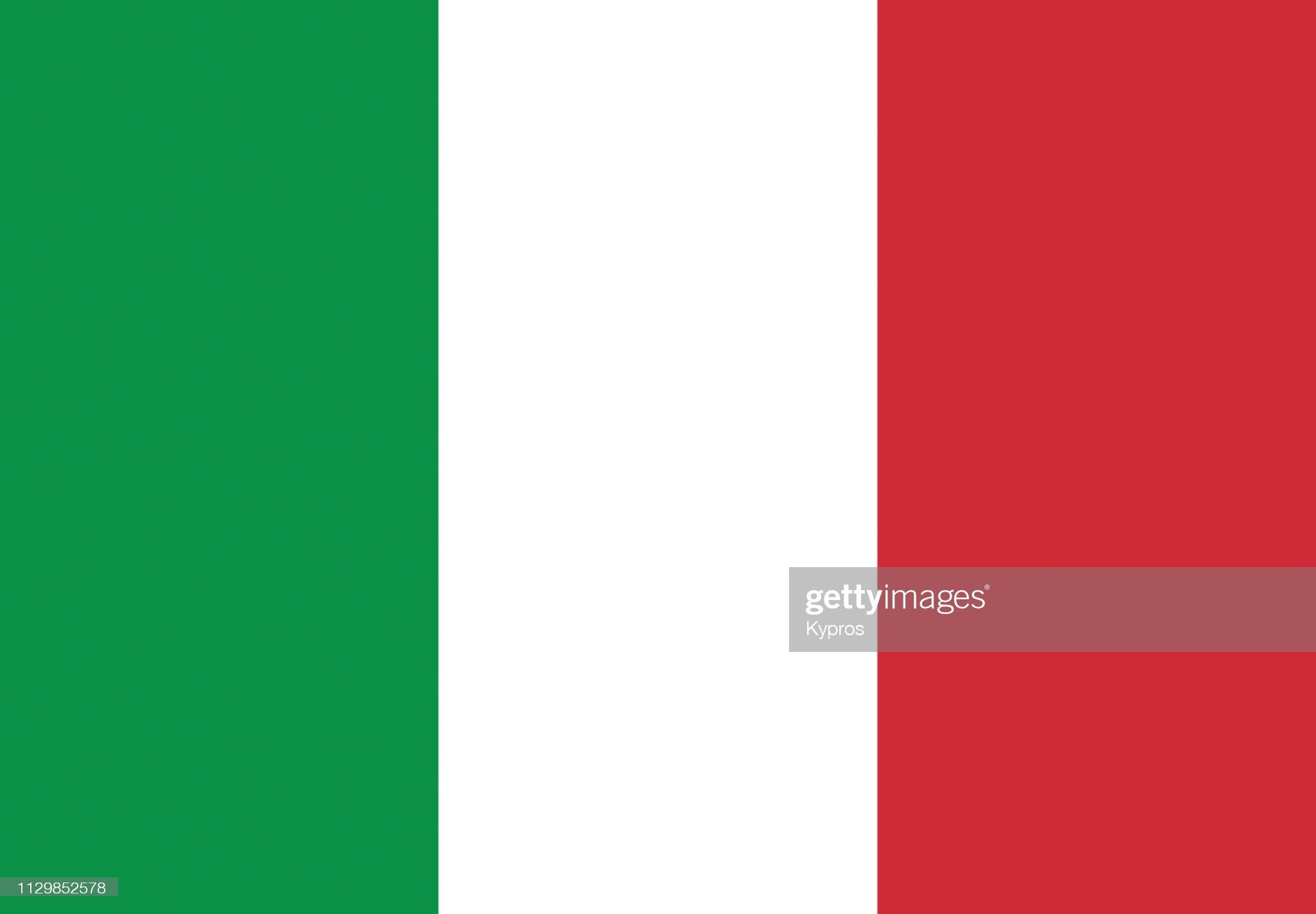 Italy Flag : ストックフォト