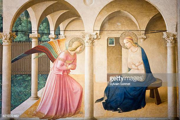 Italy, Florence, Museo Nazionale di San Marco, The Annunciation