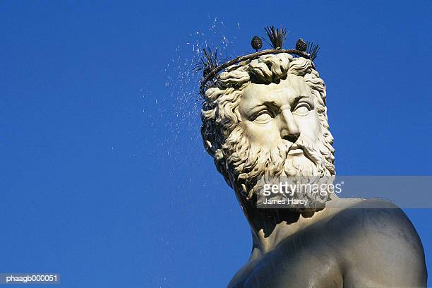 Italy, Florence, statue of Neptune