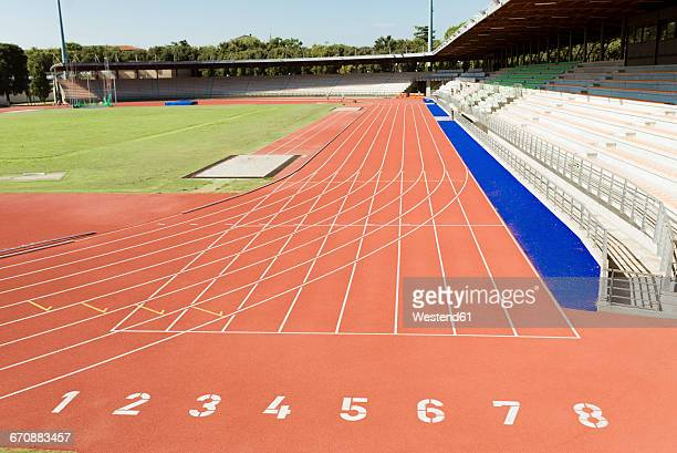 Italy, Florence, track and field stadium