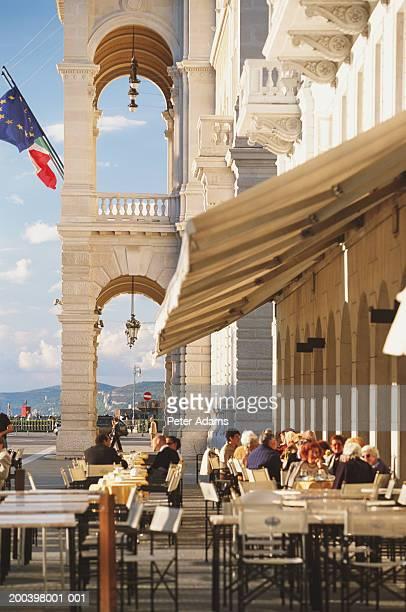 italy, friuli-venezia giulia, trieste, piazza dell'unita d'italia - トリエステ ストックフォトと画像