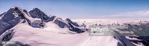 Italy, Gressoney, Alps, Castor and Lyskamm