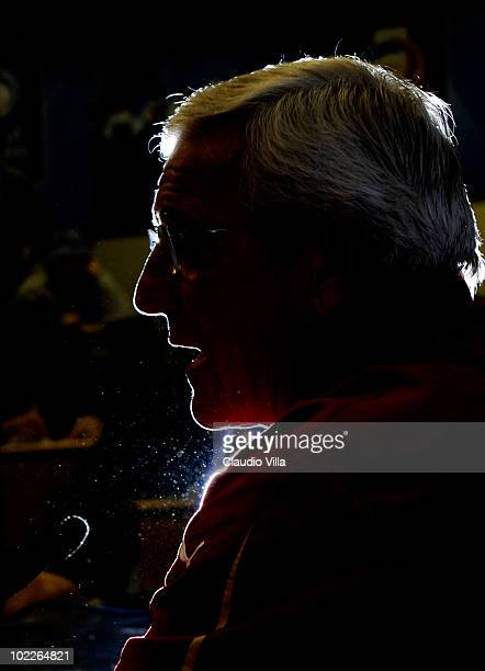 Italy Head Coach Marcello Lippi during Press Conference 2010 FIFA World Cup on June 21 2010 in Centurion South Africa