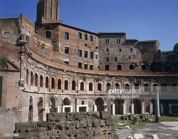 Italy Latium region Rome Imperial Fora Trajan's Forum Trajan's Market 1st century AD