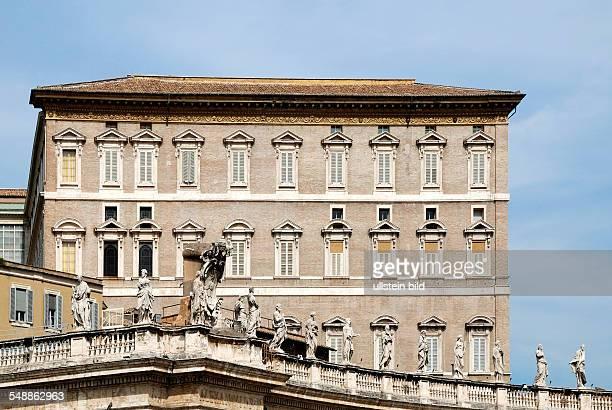 Italy Lazio Roma Apostolic palace place of residence of the Pope
