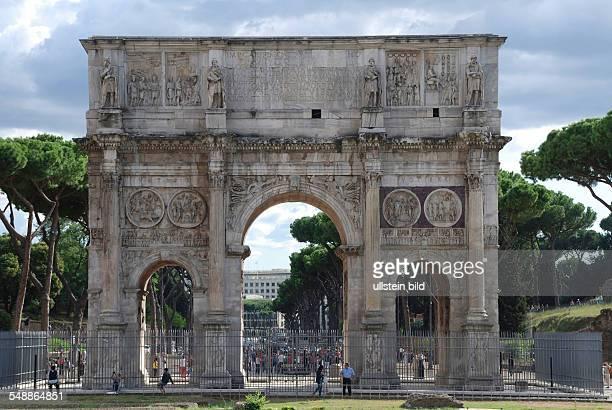 Italy Lazio Roma Arch of Constantine