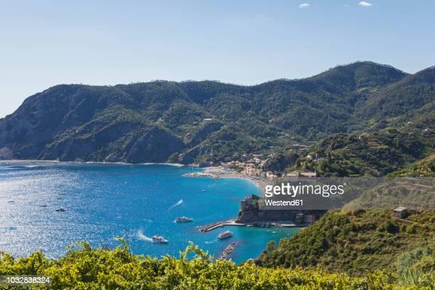 italy, liguria, cinque terre, monterosso al mare - liguria foto e immagini stock