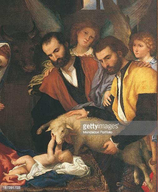 Italy Lombardy Brescia Musei Civici DArte E Storia Detail Baby Jesus In The Manger