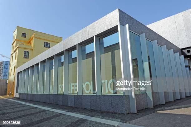 Italy Lombardy Milan Fondazione Prada Milan Design Week 2018 Whole artwork view The Podium pavilion