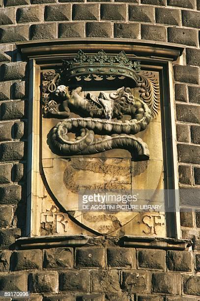 Italy Lombardy Region Sforza Castle Coat of arms of the Sforza family
