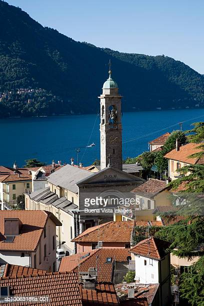 Italy, Lombardy, town on Lake Como