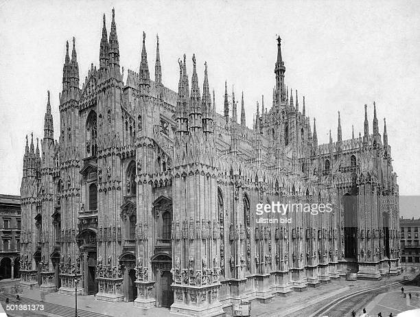 Milan Cathedral probably in the 1910s
