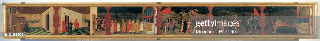 Paolo Uccello Miracle Of The Desecrated Host