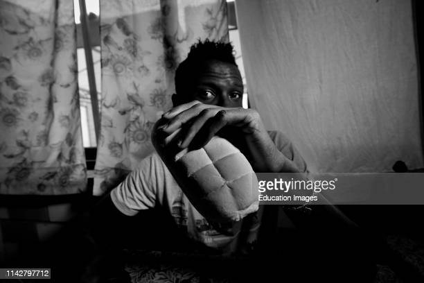 Italy. Mortara. Refugee Center.