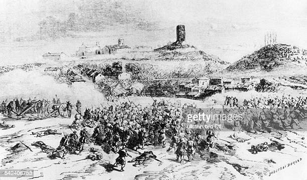 Italy national unification 185071War Sardinia/France against Austrian Empire 1859Victory of sardicfrench troops under Emperor Napoleon III at the...