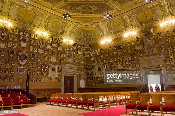 Italy, Padua, University of Padua, Palazzo Bo