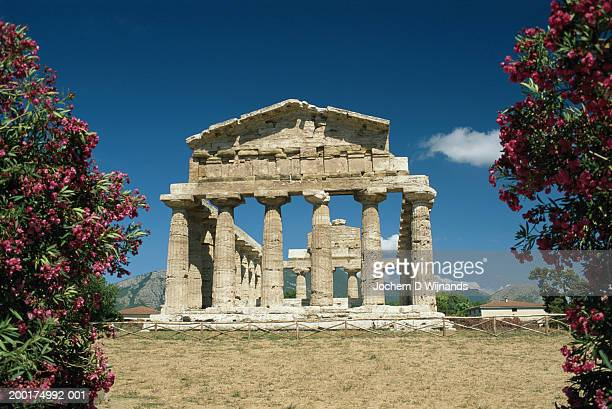 Italy, Paestum, Temple of Athena