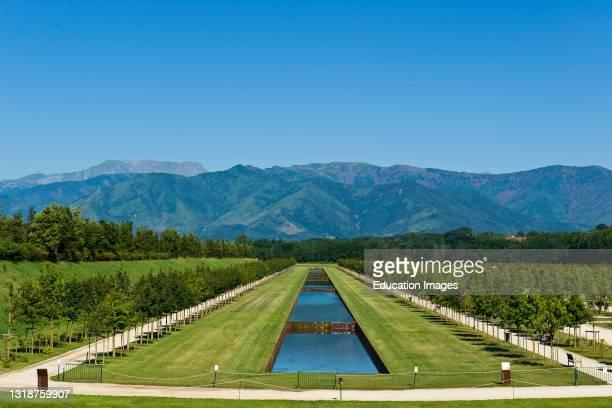 Italy, Piedmont, Reggia di Venaria, Venaria Royal Palace, Royal garden.