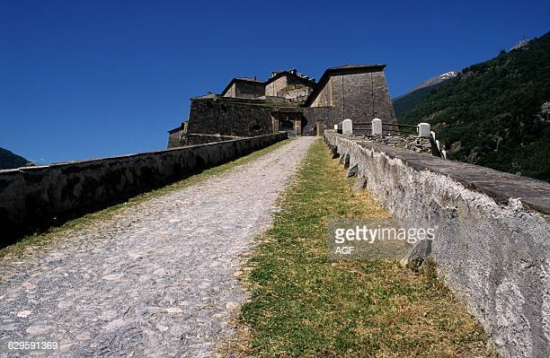 Italy Piedmont Val Di Susa Exilles Fortress