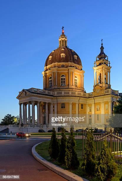 Italy, Piemont, Turin, Superga, Basilica della Nativita di Maria Vergine