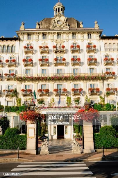 Italy. Piemonte. Lake Maggiore. Stresa. Grandiose Regina Palace Hotel.