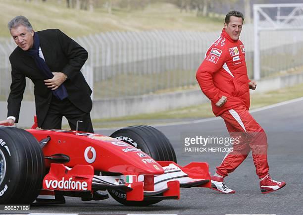 Piero Ferrari, Italian sportscar maker Ferrari vice chairman and son of Ferrari founder Enzo Ferrari and German Formula One driver Michael Schumacher...