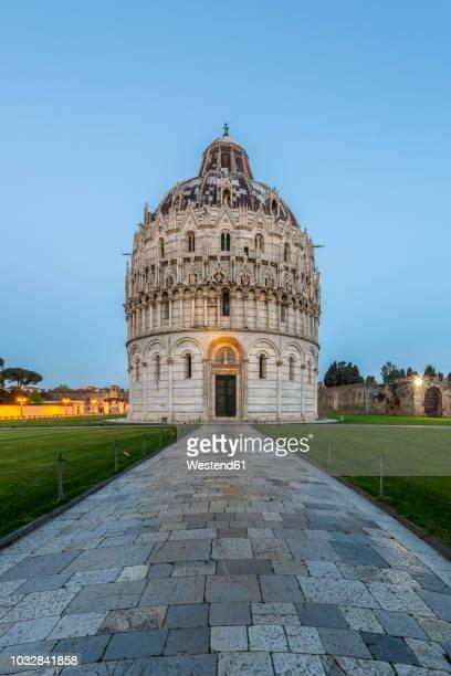 Italy, Pisa, Pisa Baptistery