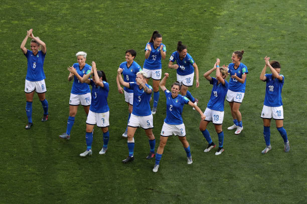 FRA: Italy v China: Round Of 16  - 2019 FIFA Women's World Cup France