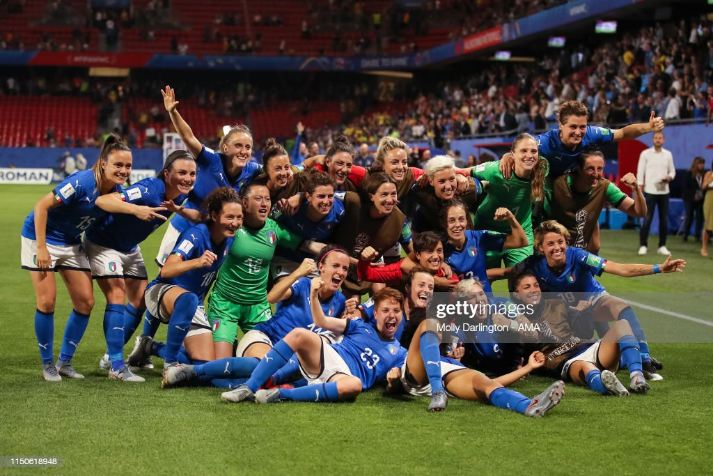 Italy v Brazil: Group C - 2019 FIFA Women's World Cup France : News Photo