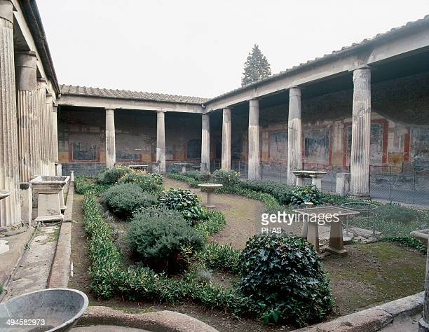 Italy. Pompeii. House of Vetti. Was a domus owned by Aulus Vettius Conviva and Aulus Vettius Restitutus, two successful freeman. 1st century AD....