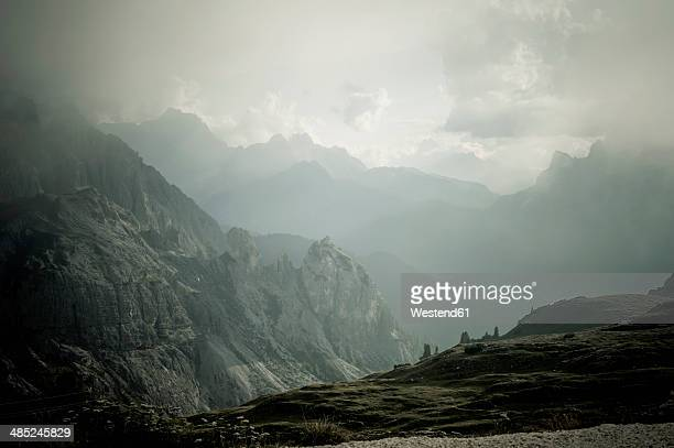Italy, Province of Belluno, Veneto, Auronzo di Cadore, Tre Cime di Lavaredo
