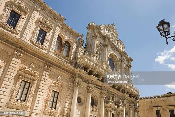 Italy, Puglia, Lecce, exterior of Basilica of Santa Croce