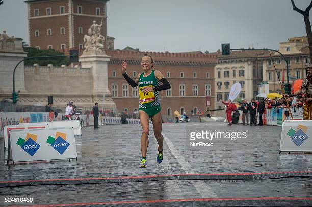Italy, Rome. 22th march 2015. The Rome Marathon, an IAAF Gold Label Road Race event, is an annual marathon competition hosted by the city of Rome...