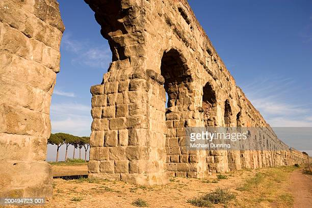Italy, Rome, Appian way, arches, outdoors