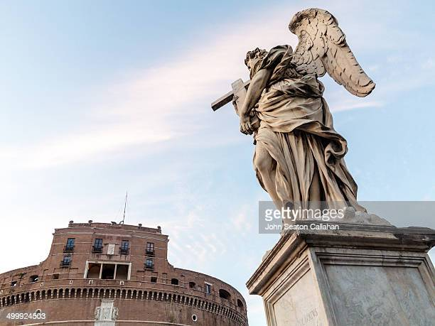 CONTENT] Italy Rome The Castel Sant'Angelo and Sant'Angelo bridge The bridge was completed in 134 AD by Roman Emperor Hadrian to span the Tiber River