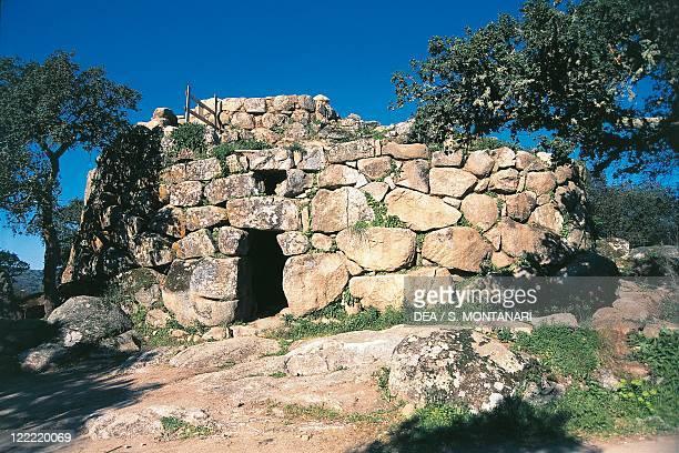 Italy Sardinia Region Tempio Pausania Nuraghe Majori