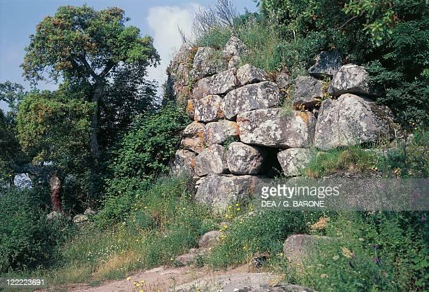 Italy - Sardinia Region - Tempio Pausania, province of Olbia-Tempio - Nuraghe Majori.