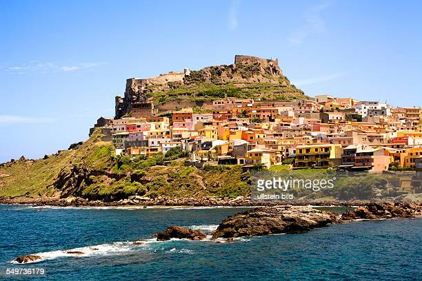 ITA Italy Sardinia The small town of Castelsardo is set on a rock overlooking the sea It was built in such strategically high position as a defence...