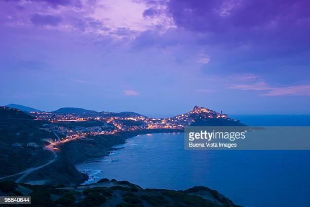 Italy, Sardinia, the village of Castelsardo
