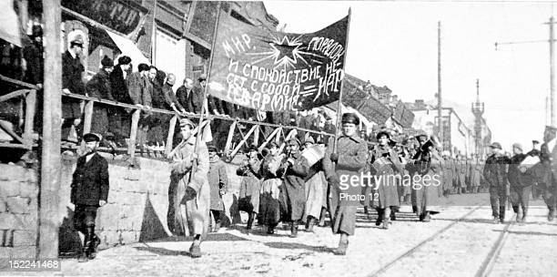 Italy, September 8 Independence of Fiume, Proclamation of the Italian Carnaro regency, in front of the government palace.